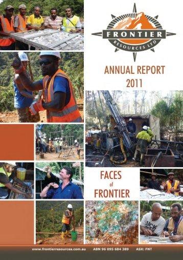 frontier resources ltd - Frontierresources.com.au