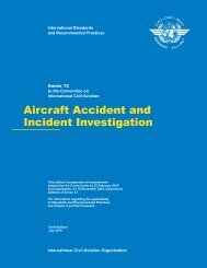 Aircraft Accident and Incident Investigation