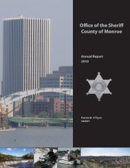 Office of the Sheriff County of Monroe - Monroe County