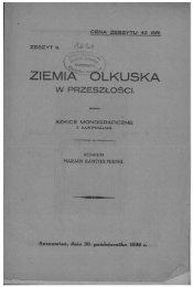 Page 1 CENA ZESZYTU 40 GR. zEszv'r s. /Í 6 W PRZESZLOSCI. Il ...