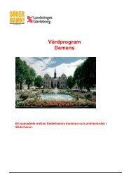 Lokalt Vårdprogram demens Söderham1.pdf - Söderhamns kommun