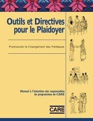 Outils et Directives pour le Plaidoyer - Handicap International