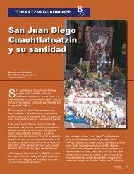 San Juan Diego Cuauhtlatoatzin  y su santidad
