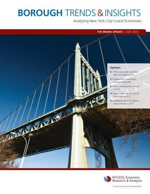 Borough Trends & Insights - NYCEDC