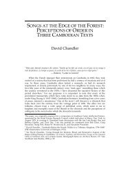 songs at the edge of the forest - Southeast Asia Program - Cornell ...