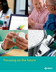 Focusing on the future - Merck & Co., Inc.