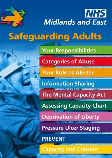 Safeguarding Adults prompt card