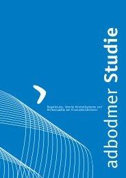 Regulierung, interne Kontrollsysteme und ... - adbodmer AG