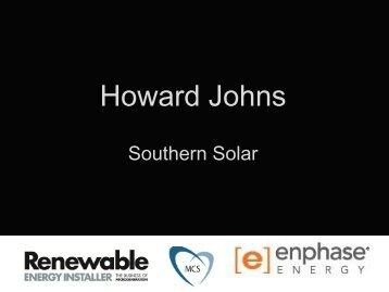 Howard Johns - Renewable Energy Installer