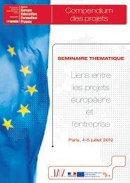 Liens entre les projets européens et l'entreprise - Agence Europe ...