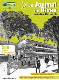 Janvier 2010 - Ville de Rives