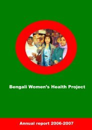 Annual Report 2007 - Bwhp.org