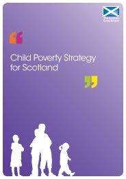 Child poverty strategy for Scotland (PDF) - Scottish Government