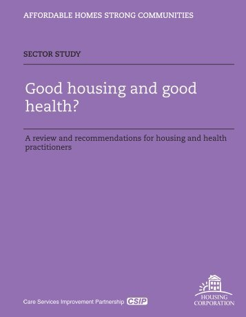 Health and Housing.indd - Health Impact Project