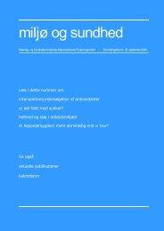 miljø og sundhed nr. 25, september 2004 (PDF 985KB)