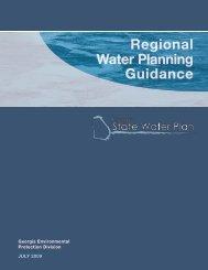 Regional Water Planning Guidance Regional Water Planning ...