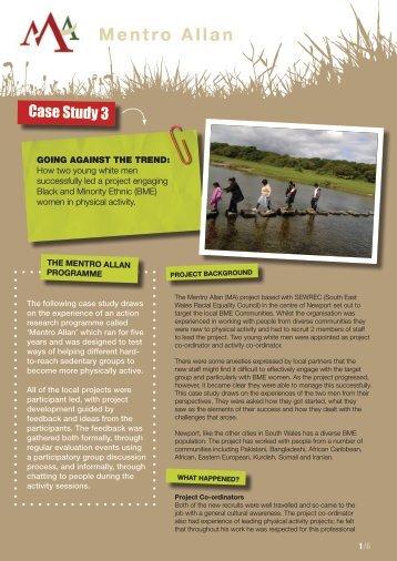 Case Study 3 - Sport Wales