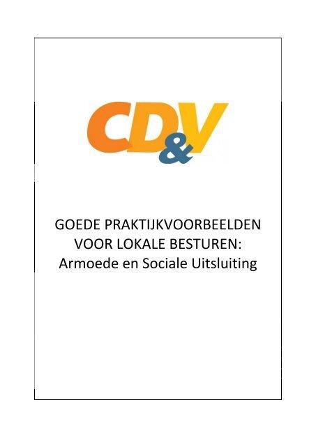 Armoede en sociale uitsluiting - CD&V