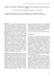 Dinámica de adsorción–desorción de arsénico - Zona No Saturada