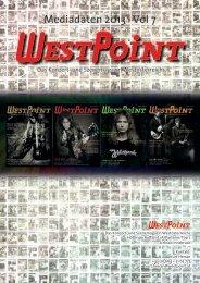 Mediadaten 2013 · Vol 7 - WestPoint