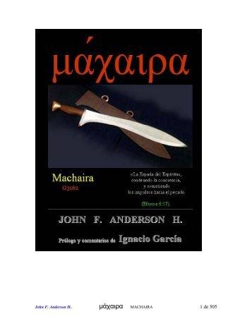 Machaira - Identidades