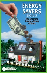 Energy Savers: Tips on Saving Energy and Money at ... - Energy Corps