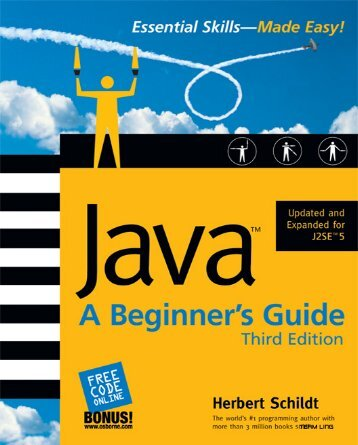 Java™: A Beginner's Guide, Third Edition