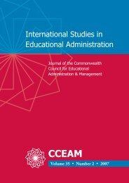 International Studies in Educational