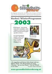 Herbst/WinterProgramm 2003 - GGF