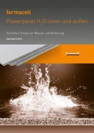 fermacell Powerpanel H2O für innen und außen - ausbau-schlau.de