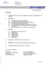 aw-3010-0001 - 06 - rm - mam HYMER AG Holzstrafle 19 B8339 Bad