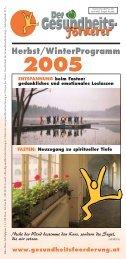 Herbst/WinterProgramm 2005 - GGF