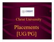 1 - Christ University