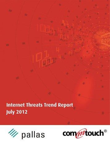 Internet Threats Trend Report - July 2012
