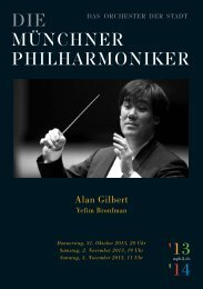 Download program - Münchner Philharmoniker