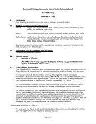 Board Meeting Minutes 02-10-11(pdf) - NEMCMH.org