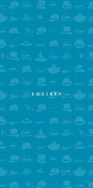 Society Bar Menu - Hilton