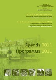 conference day 2 - Microfinance Centre