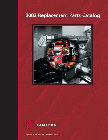 2002 Replacement Parts Catalog - cedip