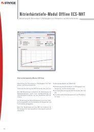 Nitrierhärtetiefe-Modul Offline ECS-NHT - Stange Elektronik GmbH