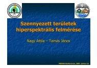 Hiperspektrális technológia alkalmazhatósága ... - MOKKKA.hu