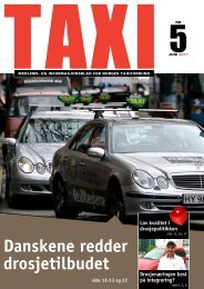 TAXI nr 5 - Norges Taxiforbund