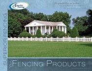 Fencing - Edgemoor Inc.