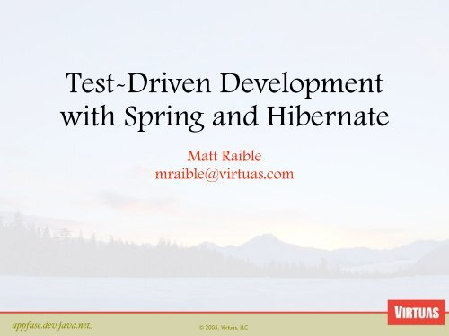 Test-driven Development A J2ee Example Pdf
