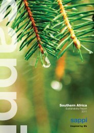 Southern Africa - Sappi