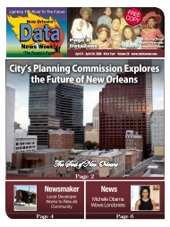 City's Planning Commission Explores the Future of New Orleans