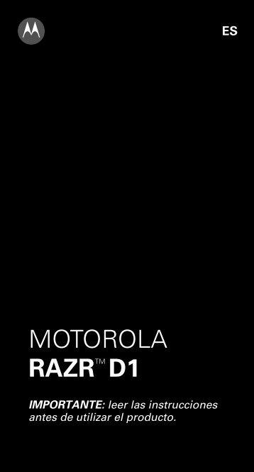 LA Spanish RAZR D1 GSG - Motorola