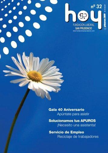 02/04/2009. SAN PRUDENCIO HOY Nº 32 primavera 09 (2,13 Mb.)