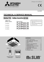 TECHNICAL & SERVICE MANUAL Ceiling Cassettes ... - Engvent.ru