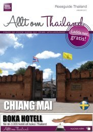Reseguide Thailand - Gratis Reseguider. Gratis PDF  guider om ...